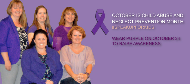 October Child Abuse and Neglect Prevention