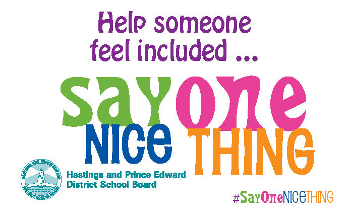 sample Say One Nice Thing sticker 2