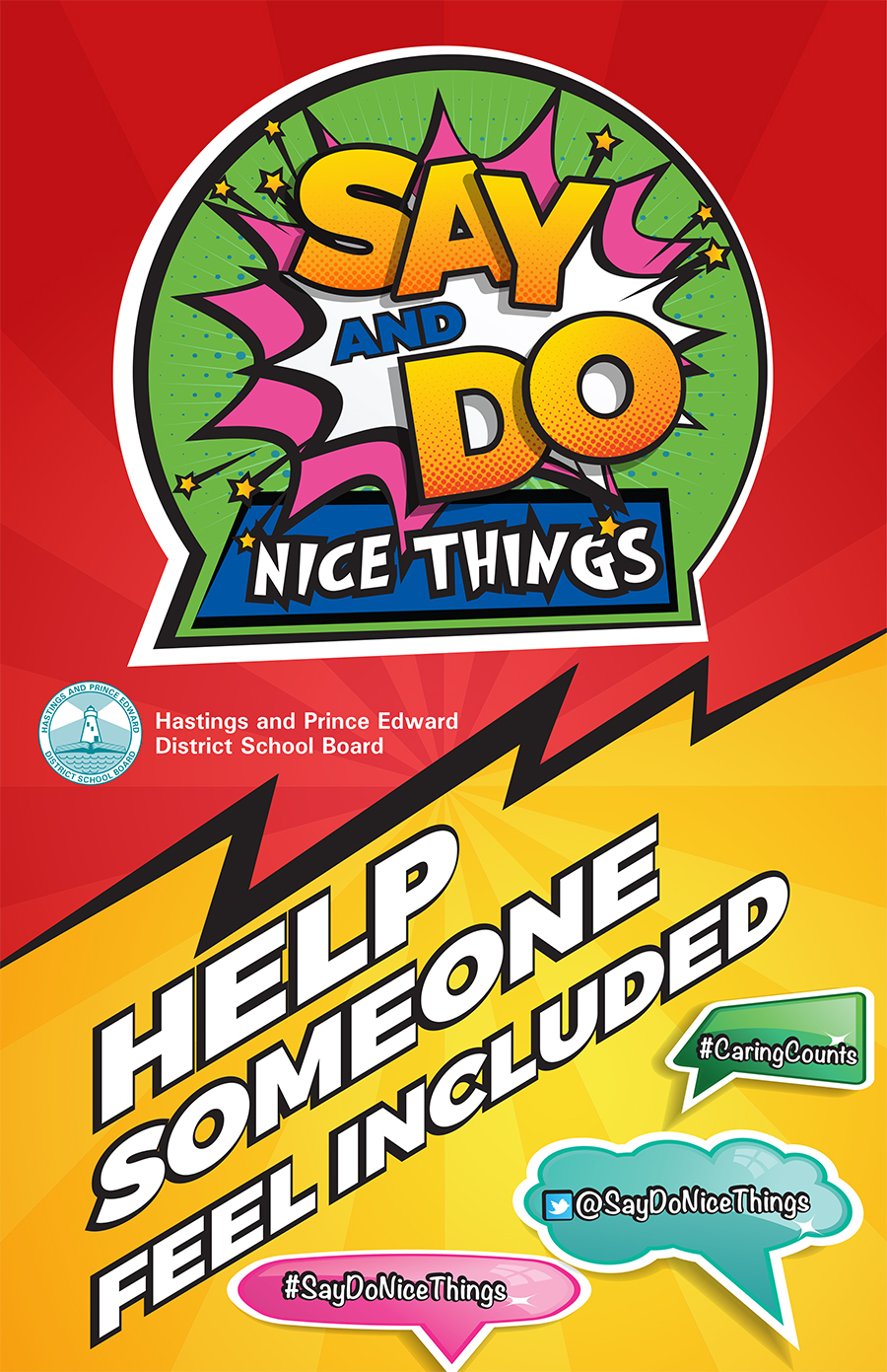 Say and Do Nice Things poster
