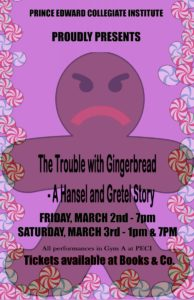 PECI Presents The Original Musical 'The Trouble With Gingerbread: A Hansel & Gretel Story