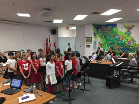 Achieving Excellence & Equity in the Arts: Park Dale School Grade 5 Students, Music Canada 150