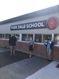 picture at Park Dale School